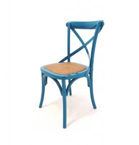 Cadeira Medeiros azul turquesa