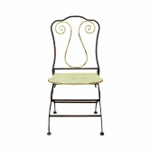 Cadeira de Ferro Provençal Art