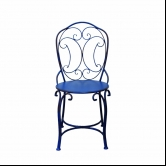 Cadeira de Ferro Provençal Bleu