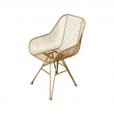 Cadeira Triano Dourada