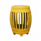 Garden Seat Pequim Amarelo