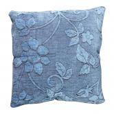 Almofada Floral Azul Acinzentado