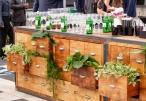 Módulo Bar com 12 Gavetas