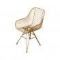 Cadeira Trianon Dourada